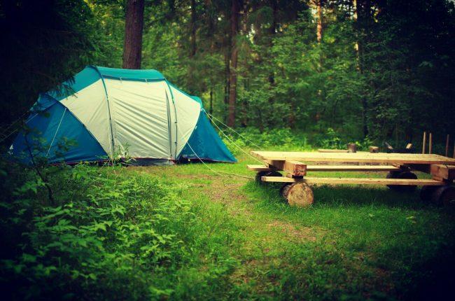 Места под палатку